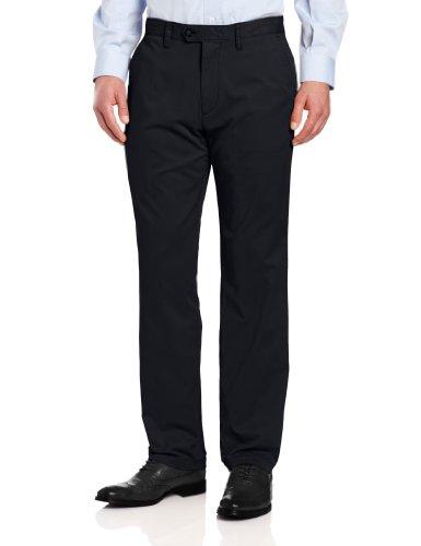 Nautica Sportswear Mens Flat Front (Nautica Men's Beacon Pant, True Navy, 36x34)