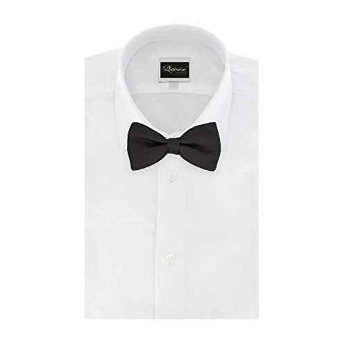 Mens-Classic-Pre-Tied-Satin-Formal-Tuxedo-Bowtie-Adjustable-Length-Large-Variety-Colors-Available-by-Platinum-Hanger