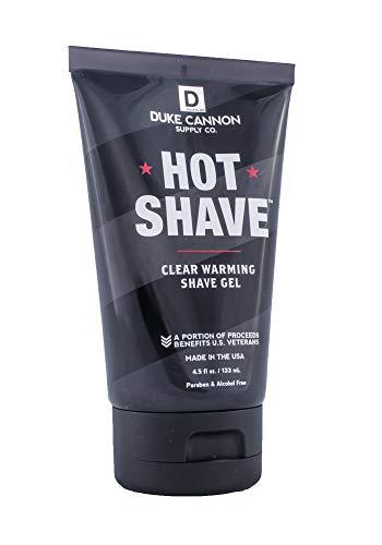Duke Cannon Hot Shave - Clear Warming Shaving Gel, 4.5 fl. oz.