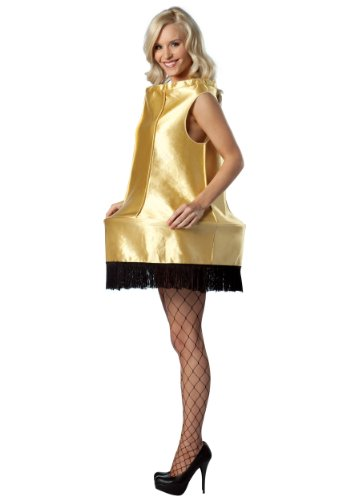 Christmas Story Costumes Halloween (Rasta Imposta A Christmas Story Foam Leg Lamp Costume, Gold, One)