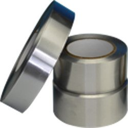 Polyken Silver Aerospace Tape - 2 in Width x 60 yd Length - 5 mil Thick - 345 2 X 60YD ALUM FOIL [PRICE is per ROLL]