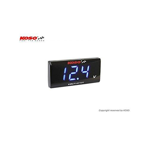 KOSO ba024b00 Style Super Slim Volt Meter: