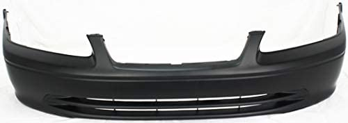 Front Bumper Cover Compatible with 2000-2001 Toyota Camry with Bumper Absorber Set of 2