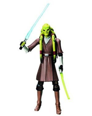 Star Wars 2010 Clone Wars Animated Action Figure CW No. 23 Kit Fisto (Wars Kit Fisto Clone Star Wars)