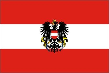 Austria Flag 3ftx5ft Polyester