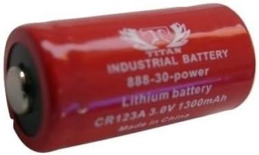 PL123A DL123A EL123A 3V Lithium Batteries 10 x Titan CR123A