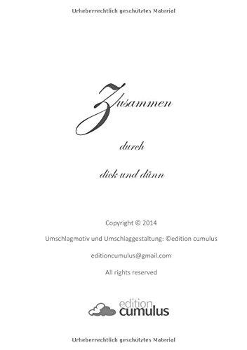 Notizbuch/Tagebuch »Zusammen durch dick und dünn« - Elefanten: DIN A5, liniert
