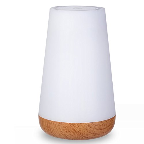 Bluetooth Speaker LED Lamp, Variable and Dimmable Color Night Light, Wireless Speaker with Built-in Microphone, Indoor/Outdoor Speaker, Bedroom Speaker LED Light, White