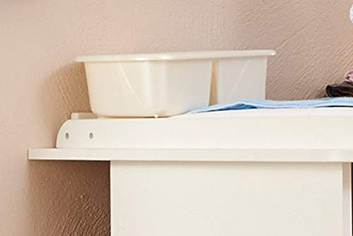 White Rotho Babydesign Top And Tail Bowl