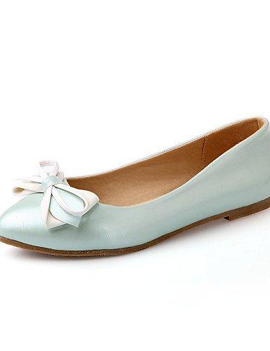Taln Casual rosa Azul Las 5 Mujeres Plano blanco Se Al Eu38 Pdx Toe Blue Uk5 5 Flats zapatos Cn38 De us7 nP7SpIwxv