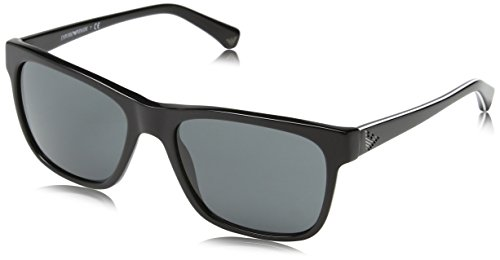 Emporio Armani EA 4002 Men's Sunglasses Black - Armani Sunglasses Emporio