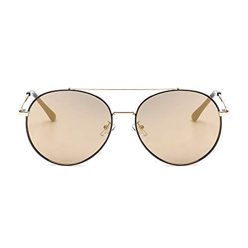 Amazon.com: SUERTREE - Gafas de sol redondas para mujer y ...