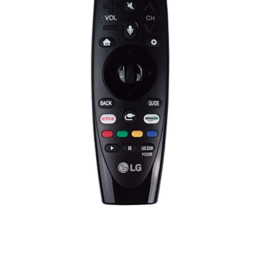 OEM LG AN-MR18BA Magic Remote Control with Netflix and Amazon Buttons Voice Mate for All 2018 4K UHD Smart LG Televisions OLED65W8PUA OLED77W8PUA OLED43W8PUA OLED49W8PUA OLED50W8PUA OLED55W8PUA by LG (Image #5)