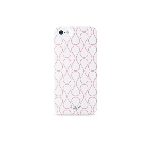 Iluv ICA7H307WHT Hardshell Case für Apple iPhone 5 weiß