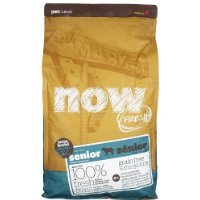 NOW! 815260003896 Fresh Grain Free Large Breed Senior Dog Food Bag, 6-Pound