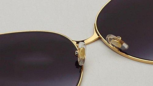 y sol metal a americano de RDJM lentes de e gafas irregulares para sol Opcional mujer europeo Gafas multicolor marco uv400 de estilo naOqx0n