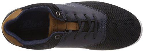 navy Homme EU Schwarz Schwarz Basses Nuss Navy Navy Nuss Noir Rieker 16400 41 Sneakers Navy 4BxAA7