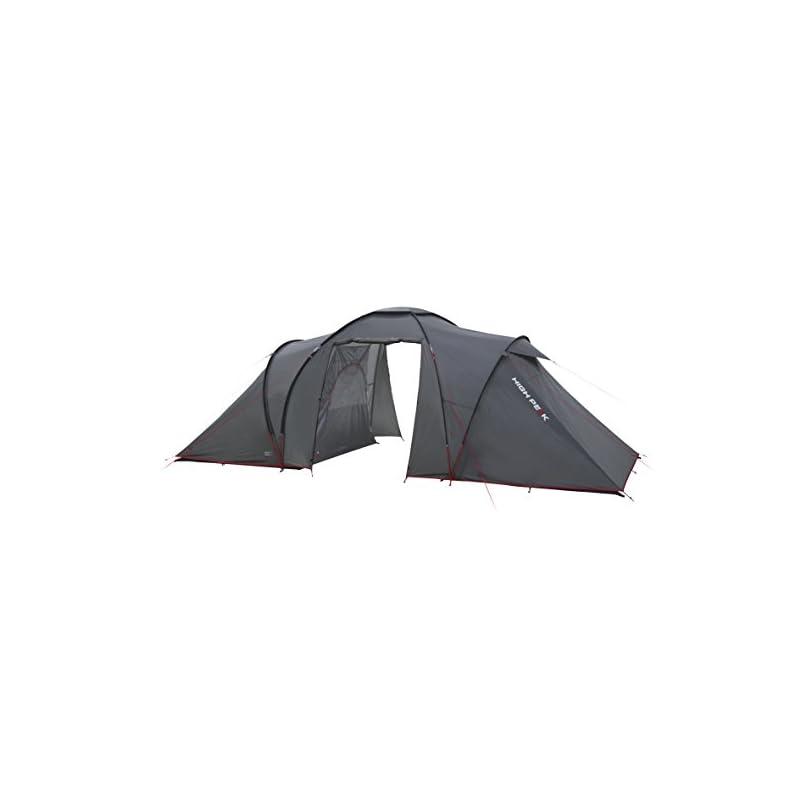 High Peak Tenda da campeggio con doppia camera e veranda centrale
