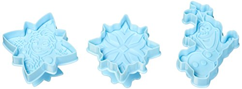 ScrapCooking 1200RDN Disney Frozen Cookies Cutters, Blue