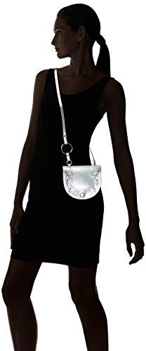 Bolso Plateado Chicca De 1545 silver Hombro Silver Mujer Borse 4p4gEnYO