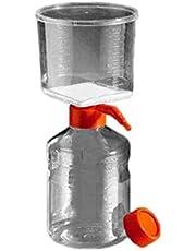 Corning 431118 Polystyrene Bottle Top Vacuum Sterile Filter, Polyethersulfone Membrane, 0.22 Micron, 45mm Bottle Neck Diameter, 500mL Capacity (Case of 12)