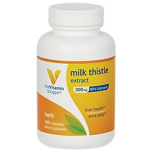 Vitamin Shoppe Thistle Extract Capsules product image