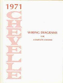 chevelle and el camino 1971 (factory assembly instruction manual chevy turn wiring diagrams 1971 chevelle wiring diagram manual reprint malibu, ss, el camino