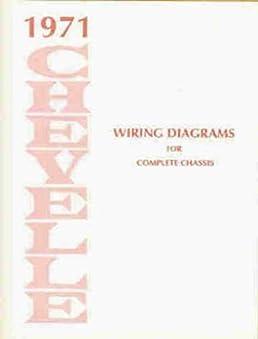 1971 Chevelle Wiring Diagram Manual Reprint Malibu SS El Camino: Chevrolet: Amazon.com: Books