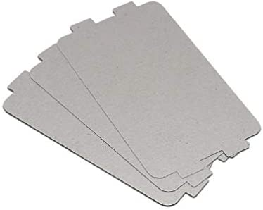 2 pezzi forno a microonde mica foglio MM721NH1-PW MM721NG1-PW M1-L213B 211A raccordi, dimensioni 10,6 cm x 6,4 cm