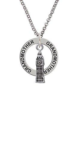 London's Big Ben Clock Tower - Grandmother Affirmation Ring (Gamma Clock)