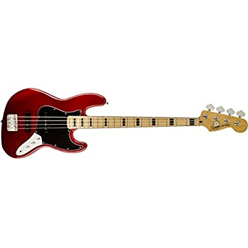 Squier By Fender Vintage Modified Jazz Bass 70s Candy Apple Red