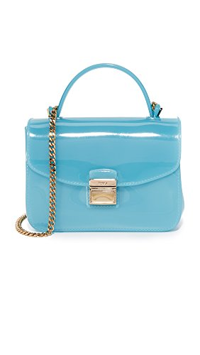 Furla Candy Sugar Mini Crossbody turquoise