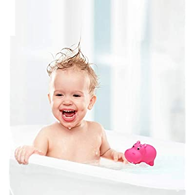 Puzzled Bath Buddy Hippo Water Squirter: Toys & Games