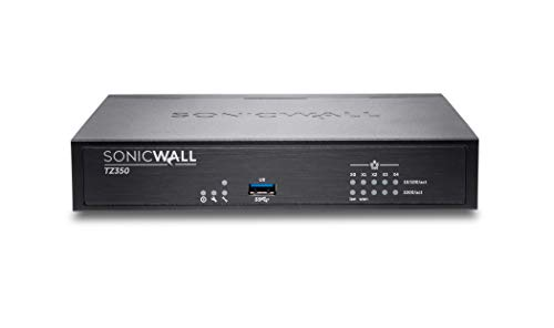 SonicWall | TZ350 Base | Security VPN Firewall | 02-SSC-0942 (Best Router Firewall 2019)