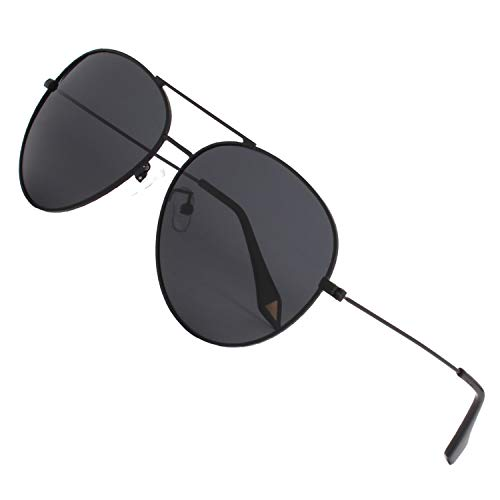 completa Premium Gris GQUEEN Oscuro polarizadas 1 gafas refleja aviador el sol de MZZ9 54ddPq