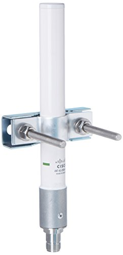 Cisco Outdoor Omnidirectional Antenna for 2G/3G Cellular, White (ANT-4G-OMNI-OUT-N=) by Cisco