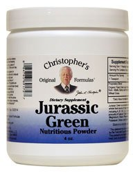 Christopher's Jurassic Green Powder -- 4 oz