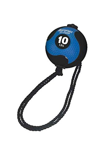 Power Rope Medicine Ball in Blue