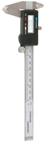 Empire Level 2789 Digital Electronic Caliper, Three Way Measuring with Case