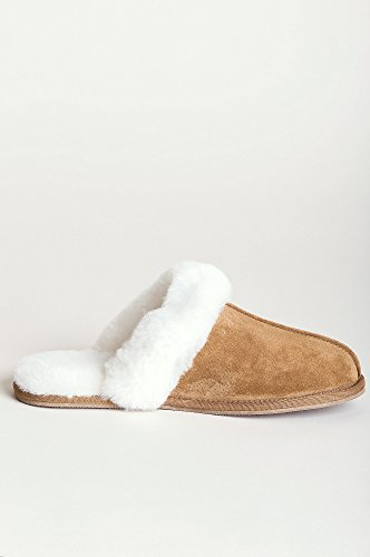 Classic Women's Scuff Slippers Sheepskin Chestnut dY4AYxw