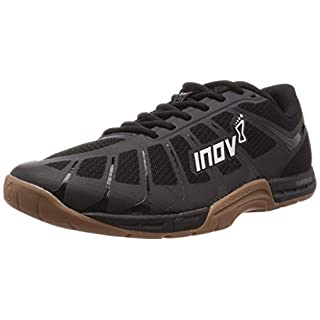Inov-8 Mens F-Lite 235 V3 - Cross Trainer Shoes - Lightweight and Flexible - Black/Gum - 8.5