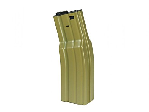 Echo1 FAT AEG Magazine, Fits Echo1 M4/M16 Electric Airsoft Rifles, 850 Rds, Tan