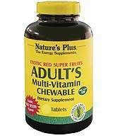 Nature's Plus Adult's Multi-Vitamin Chewable Exotic Red Super Fruits Berry – 60 Chewable Tablets Review