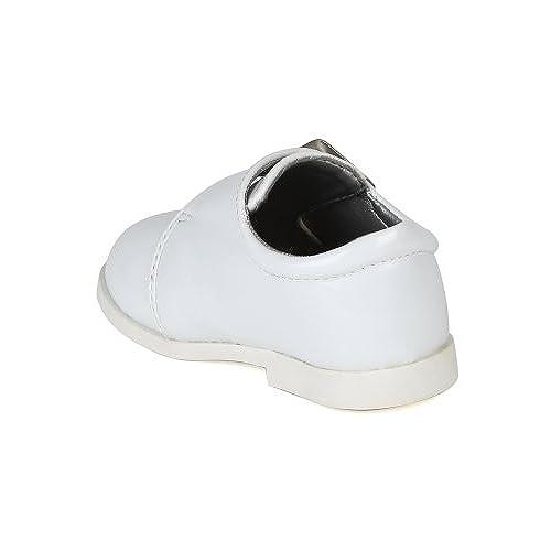 976903d52 Auston AH59 Leatherette Velcro Buckle Strap Dress Church Shoe ...