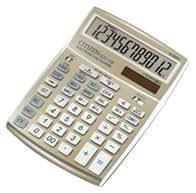 Citizen CCC-112 - Calculadora (LCD, 155.5 x 207 x 33 mm, 257 g, Beige)
