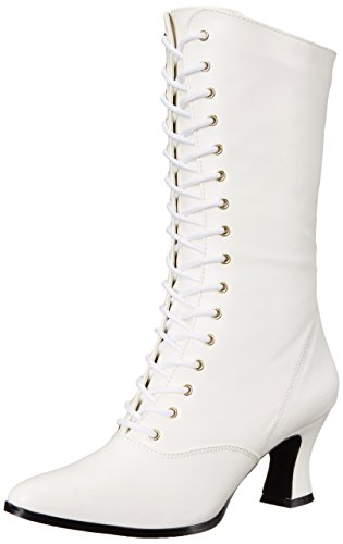 Pu Women Boots B Vic120 Ankle Warm Lining Funtasma White zq7EtH