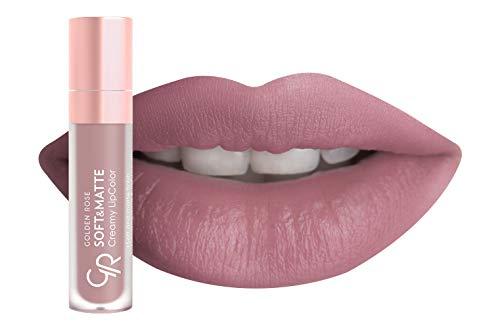 Golden Rose Soft and Creamy Matte Liquid Lipstick - 101 Cool Rose