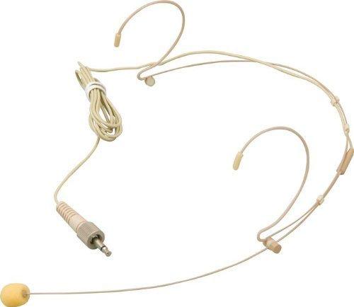 Omni Directional Studio Condenser (Nady HM-10 Headmic Series Headworn Omni-Directional Condenser Microphone with 3.5mm Phono Plug (Beige))