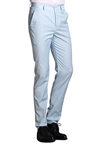 MOGU-Mens-Slim-Fit-Flat-Front-Pant