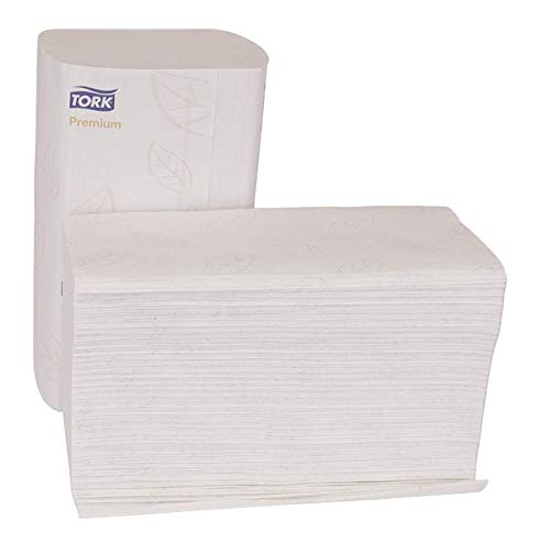 Tork MB578 Xpress Premium Soft Multifold 3-Panel 2-Ply Hand Towel, White, 16 pack by Tork